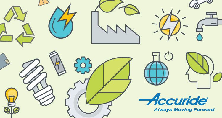 A few ways Accuride Goes Green