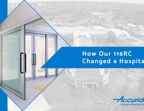 How the 116RC is Changing Hospital Sliding Solutions