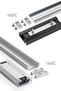 115rc, 116rc linear track systems from Accuride