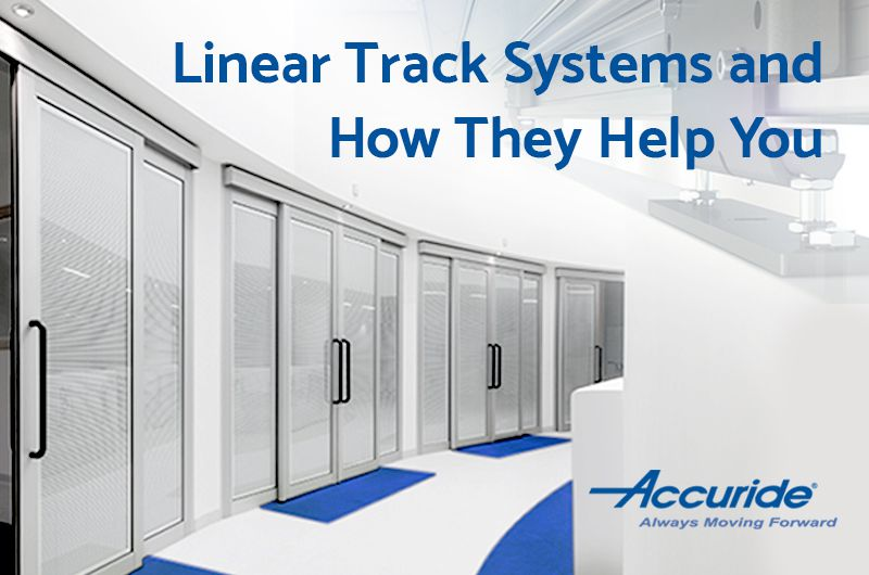 linear motion track sliding system helping commercial/industrial applications