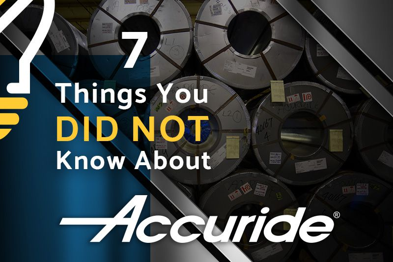 Things you did not know about accuride - Accuride Facts