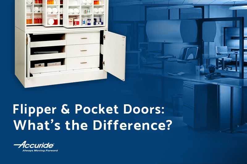 flipper doors vs pocket doors - What is the difference