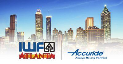Booth #604, IWF 2018 runs from Aug. 22-25 at Atlanta's George World Congress Center