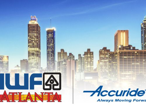 We are Excited for IWF 2018 | #AccurideIWF Booth: #604