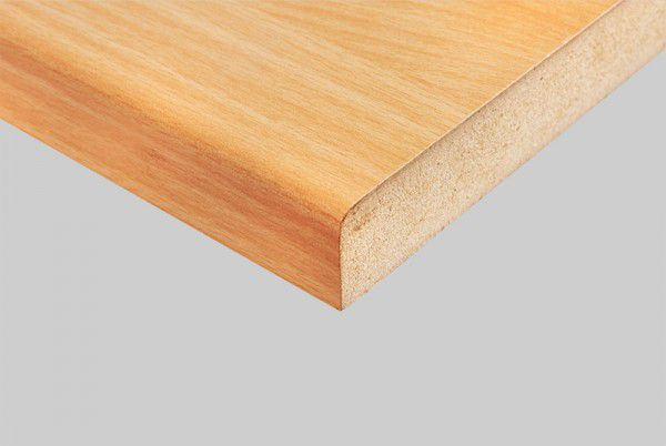 a High-grade composite material made from recycled wood fibers and resin. Machine dried and pressed to produce dense, stable sheets.