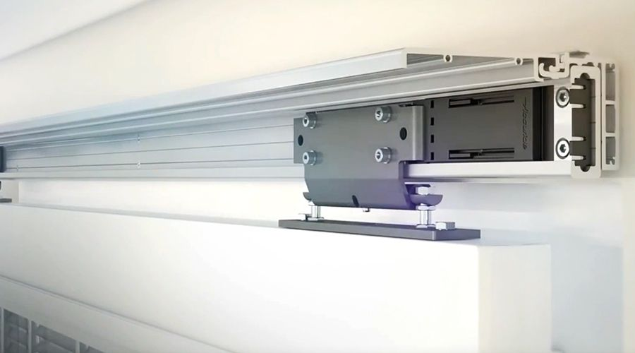The 116RC Linear Track System is an easy-to-install, low-maintenance linear track system that handles loads up to 793 lbs.