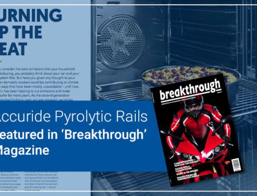 Accuride Pyrolytic Rails Featured in 'Breakthrough' Magazine