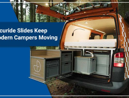 Accuride Slides Keep Modern Campers Moving