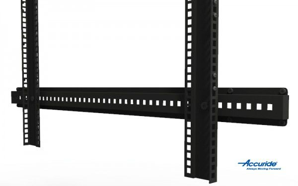 An adjustable rail gives you more flexibility when it comes to chassis fittings.