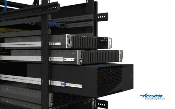 A slide's profile, side-space, and placement are key factors before settling on the right movement solution for your server rack.