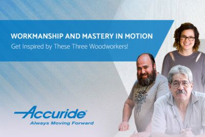 Get Inspired + Innovative With Three Woodworker Stories From Your Friend Accuride