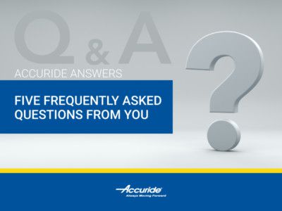 Accuride Answers Five More of Your FAQs Answered