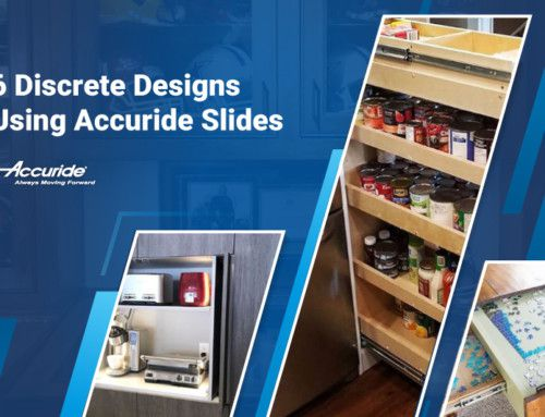 6 Discrete Designs Using Accuride Slides