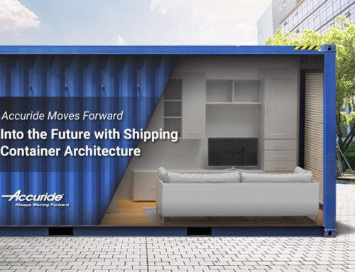 Accuride Moves Forward into the Future with Shipping Container Architecture