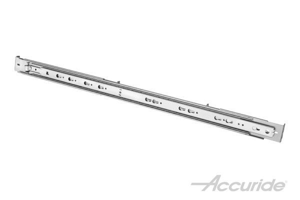 Specialty slides for server racks, such as the Accuride 2907WB, go beyond traditional guides. They will occupy far less side-space than other slides with similar load capacities while being quick and simple to disconnect.