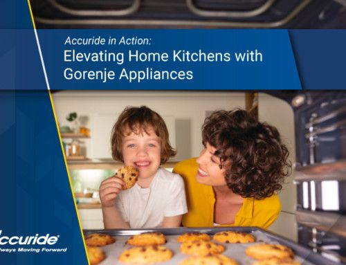 Accuride in Action: Elevating Home Kitchens with Gorenje Appliances
