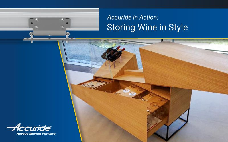 Accuride in Action: Storing Wine in Style